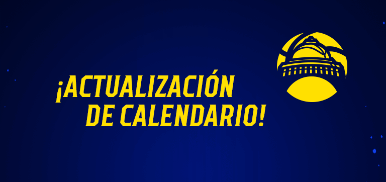 Actualización del calendario Capitanes